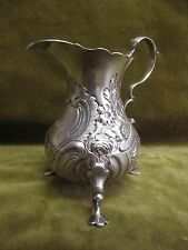 18th c english sterling (925) silver creamer London 1769?) rococo st 89gr