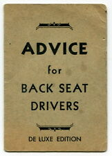 "Vintage ""RITELITE Welding Plates & Lenses"" Promo Giveaway: ""Back Seat Drivers"""