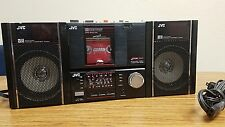 Vintage JVC PC 100 PC-RM100JW Boombox with Detachable speakers Walkman Rare