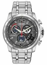 Citizen BY0100-51H Eco-Drive Perpetual Calendar Chronograph A-T Watch NEW
