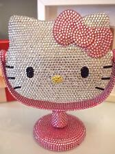 Bling Bling Deluxe Hello Kitty Crystal Diamond Makeup Mirror! Best Gift Idea!