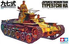Tamiya 35075 1/35 Scale Model Kit Japanese Medium Tank Type 97 Chi-Ha