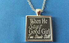 BDSM Jewelry Necklace for His GOOD GIRL Submissive Kinky Fetish Lifestyle