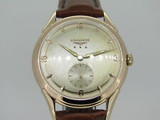 LONGINES Cal. 22A 18K SOLID ROSE GOLD *Swiss Made* YEAR 1951 Black Friday