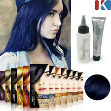 HAIR DYE Fruits Wax Hair Color Pearl #22. Blue Black / Stylish hair color change