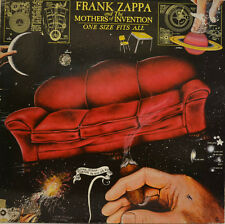 "MOTHERS    FRANK ZAPPA - ONE SIZE FITS ALL   DISCREET 59207 12""  LP (W 996)"