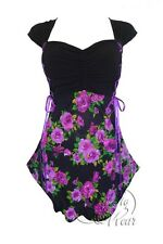 NWT WOMENS PLUS SIZE CLOTHING CINCH CORSET TOP IN PURPLE ROSE 2X