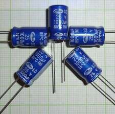 10X Back-up Capacitor for Car Lighting ,capacitor 1000µf/25V EB0282