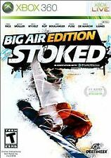 Stoked: Big Air Edition Microsoft Xbox 360 Great Snowboarding Game --SHIPS FAST-