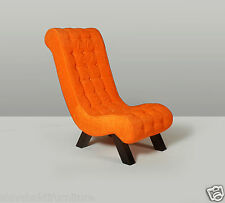 Accent Lounge Chair-Orange # LE-500153
