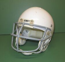 Full Size Complete Schutt Youth Air Jr Football Helmet White Sz Medium