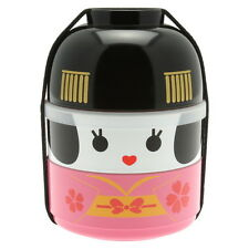 1pc Japanese Kokeshi Maiko  Bento box  #280-220