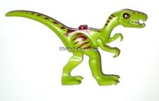 Lego Jurassic World DINO COELOPHYSIS Lime w/Dk Red Markings, Wht Eyes 30320, New