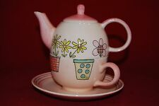WHITTARD Teapot , Cup  and Saucer