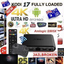 T95X 8GB ANDROID 6 TV BOX KODI 17.1 KRYPTON MOVIES TV SPORTS IPTV + KEYBOARD AUS