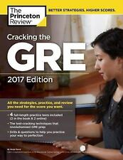 Cracking the GRE 4 Practice Tests, 2017 Edition (Graduate School Test Prep) New