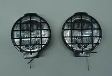 """2PCS  SIX INCH  6"""" OFF ROAD LIGHT TRUCK DRIVING/FOG  LIGHT WITH GRILLE GUARD"""
