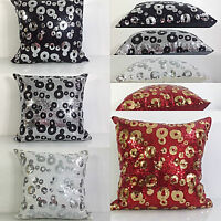 Cushions Cushion Covers sequin retro design scatter cushions Vibrant Design