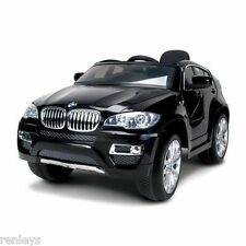 Ride-On Kids Car BMW X6 6V Battery Powered Operated Electric Children Toy Black