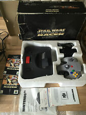 N64 NINTENDO 64 CONSOLE STAR WARS EDITION / EXPANSION PACK  **PAL**