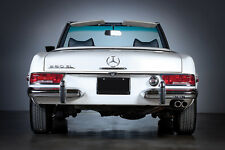 "MERCEDES BENZ 280 SL WHT PAGODA  (Rear-V) 30""x 20"" LARGE POSTER / PHOTOGRAPHY"