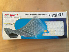 ➔ Air SOFT Touch Flexible mini 85-Key USB/PS/2 Keyboard (White) *AU stock*