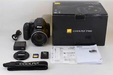 【A- Mint】 Nikon COOLPIX P900 16.0 MP Digital Camera 83X Zoom From JAPAN #2261