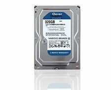 "320GB SATA 3.5"" Desktop PC Mac DVR Hard Disk Drive HDD 7200RPM, Various Brands"