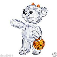 SWAROVSKI SILVER CRYSTAL HALLOWEEN KRIS BEAR 2011 LIMITED EDITION 1096026  MINT