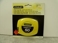 Stanley 34-103   50' X 3/8 Tape Measure NOS  Dated: 1999