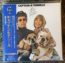 CAPTAIN & TENNILLE 'Love Will Keep Us Together' JAPAN MINI LP CD SEALED!
