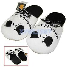 The Nightmare Before Christmas Jack Skellington Soft Plush Warm Slippers 10.6""