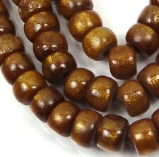 8x5mm Natural Golden Sponge CORAL Rondelle Beads 16""