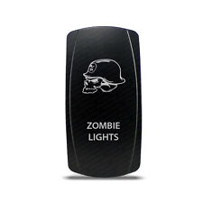 CH4x4 Rocker Switch Zombie Ligths Symbol 4 - Vertical - White LED