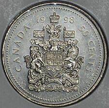 CANADA 50 CENTS 1998 in MS