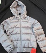 THE NORTH FACE girls Med 10 12 Hey mom Bomba silver metallic jacket NEW