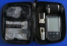 Carry Case For Diabetic Meter & Accessories - Black - With Zip - New - RRP £25