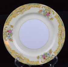 Noritake, Pattern # N 72 (1933-1946) floral, gold trim, bread and butter plate