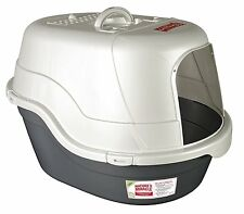 Covered Hooded EXTRA LARGE JUMBO XL BIG Cat Privacy Litter Box OVAL Cat Box