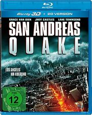 San Andreas Quake Blu Ray 3D + 2D Version ***Neu OVP***