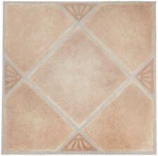 Home Furnishings Nexus Self Adhesive Vinyl Floor Tiles Beige Clay Diamond 20pack