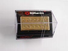 DiMarzio Liquifire 7 String Neck Humbucker W/Gold Cover DP 707