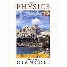 Physics: Principles with Applications Volume II (Chapters 16-33) (7th Edition)