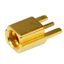 MMCX type female Jack edge mount PCB board straight RF coaxial adapter connector