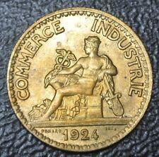 1924 FRANCE - 50 CENTIMES - Commerce Industrie - Nice LUSTRE