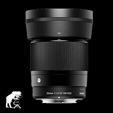 Sigma objectif Contemporary 1,4/30 mm DC DN MFT Olympus panasonic incl. Geli