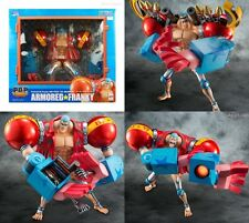 New Megahouse Portrait.Of.Pirates One Piece SA-MAXIMUM Armored Franky Figure PVC