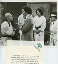 RON PALILLO GABE KAPLAN JOHN TRAVOLTA WELCOME BACK KOTTER CAST 1976 ABC TV PHOTO