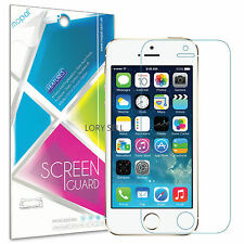 [6-Piece] iPhone 5S 5C 5 HD Clear Anti-Scratch Front Screen Protector Saver Film