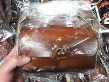 borsa cuoio  vero cuoio  artigianale grande qualita' bauletto piccolo